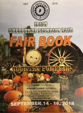 Shelburne Fair (Shelburne & District Agricultural Society)