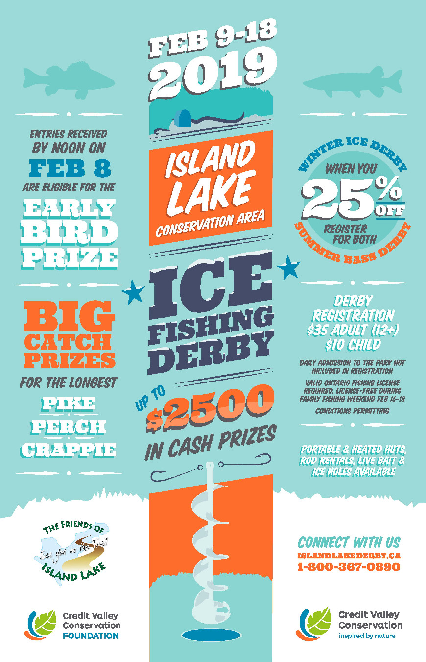 Island Lake: Ice Fishing Derby