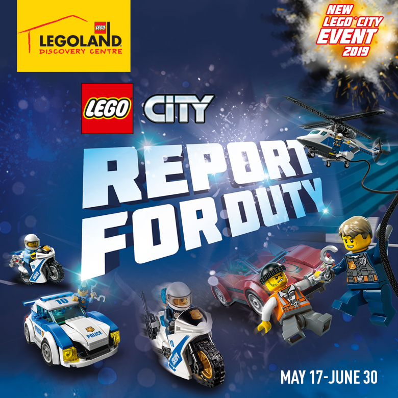 LEGO City: Report for Duty
