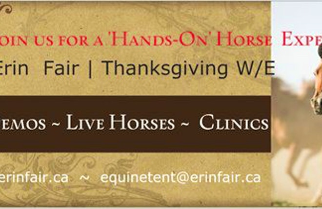 Erin Fall Fair Equine Tent